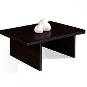 mesa de centro color chocolate